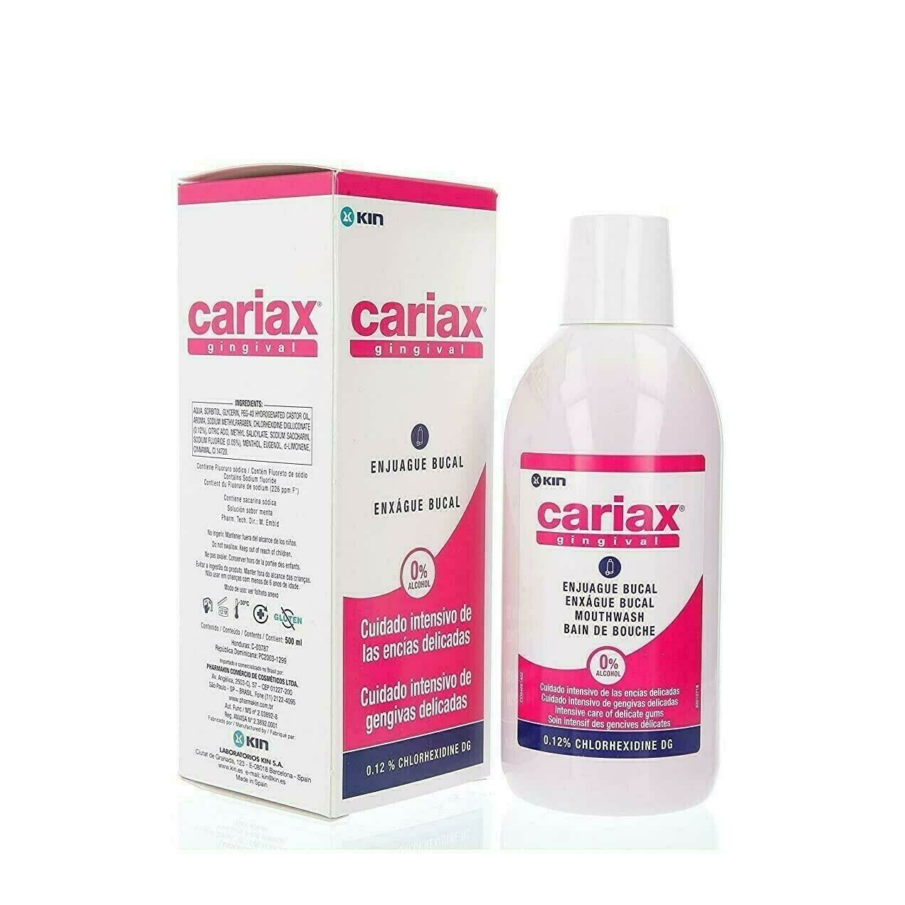 CARIAX GINGIVAL ENJUAGUE BUCAL 500 ML
