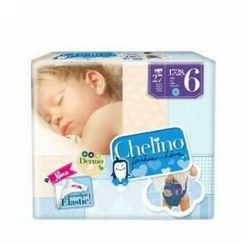 PAÑAL INFANTIL CHELINO FASHION  LOVE T- 6 (17 - 28 KG) 27 PAÑALES