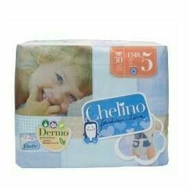 PAÑAL INFANTIL CHELINO FASHION  LOVE T- 5 (13 - 18 KG) 30 PAÑALES