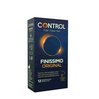 CONTROL FINISSIMO PRESERVATIVOS 12 U
