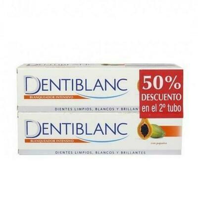 DENTIBLANC BLANQUEADOR INTENSIVO PASTA DENTAL DUPLO 100 ML 2 U