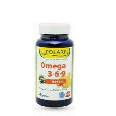 POLARIS 3-6-9 1000MG, 50 PERLAS
