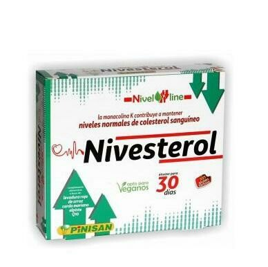 NIVESTEROL PINISAN 30CAPSULAS
