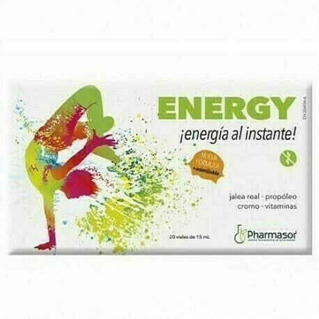 ENERGY 10 ML 20 VIALES