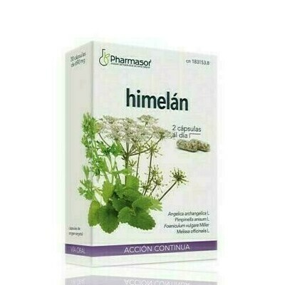 HIMELAN ACCION CONTINUA CAPSULAS SORIA NATURAL H 30 CAPS