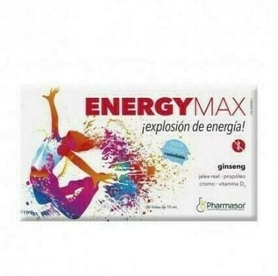 ENERGY MAX 10 ML 20 VIALES