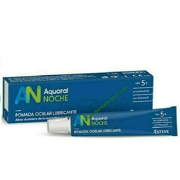 AQUORAL NOCHE POMADA 5 G ( COFARES)