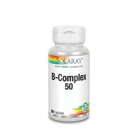 SOLARAY B COMPLEX 50 50 CAPSULAS