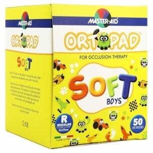 ORTOPAD SOFT PARCHES OCULARES BOYS REGULAR 50 U