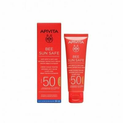 APIVITA CREMA FACIAL ANTIEDAD CON COLOR  50 SPF  50 ML