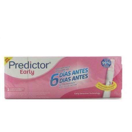 PREDICTOR EARLY TEST DE EMBARAZO 1 U