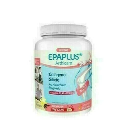 EPAPLUS COLAGENO   SILICIO   HIALURONICO   MAGNE SABOR VAINILLA 383,01 G