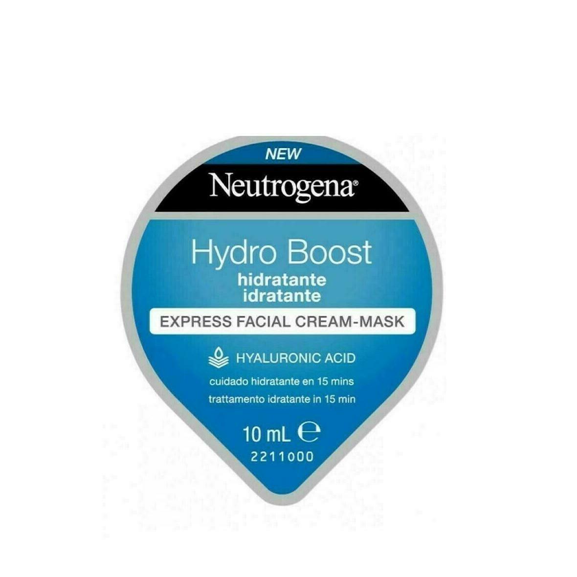 NEUTROGENA HYDRO BOOST EXPRESS FACIAL CREAM-MASK 10 ML
