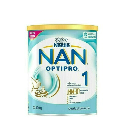 NAN OPTIPRO 1 LECHE LACTANTES 800 G