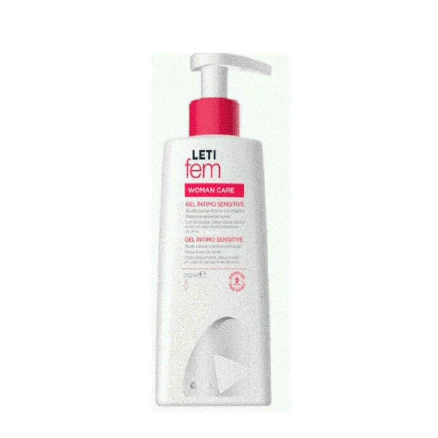 LETIFEM GEL INTIMO SENSITIVE 250 ML