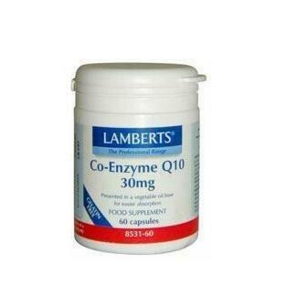 LAMBERTS CO ENZIMA Q10 30MG 60 CAPS