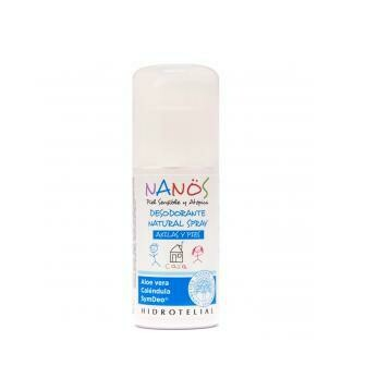 HIDROTELIAL NANOS DESODORANTE NATURAL SPRAY AXILAS 75 ML