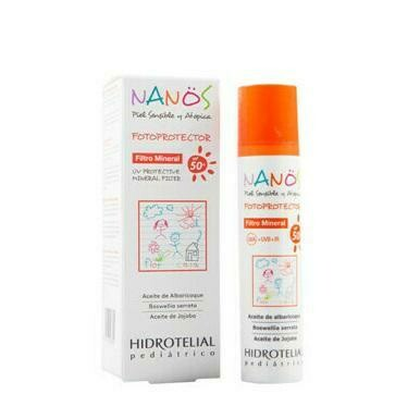 HIDROTELIAL NANOS FOTOPROTECTOR MINERAL FPS 50  100 ML