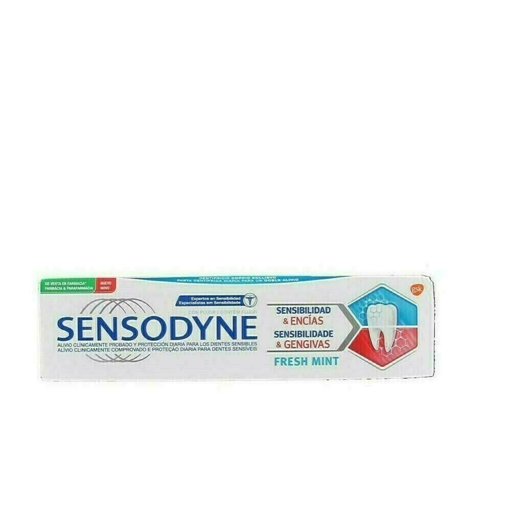 SENSODYNE SENSIBILIDAD  ENCIAS FRESH MINT 75 ML