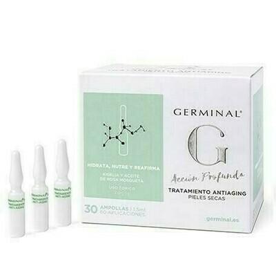 GERMINAL 3.0 TRATAMIENTO ANTIAGING 1,5 ML 30 AMPOLLAS
