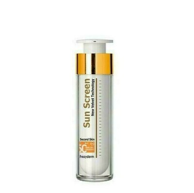 SUN SCREEN VELVET FACE SPF50  FREZYDERM 50 ML