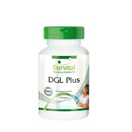 FAIRVITAL DGL PLUS 180 CAPS