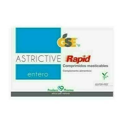 GSE ENTERO ASTRICTIVE RAPID 24 COMPRIMIDOS MASTICABLES