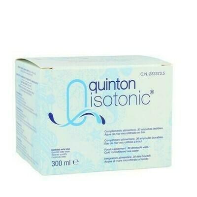 QUINTON ISOTONIC AMP BEBIBLE 10 ML 30 AMP