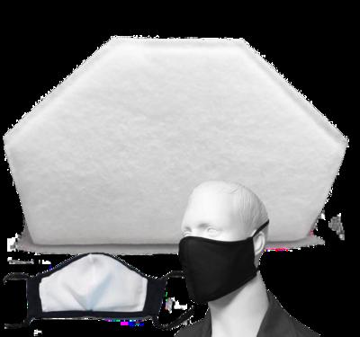 NIKKI Reusable Face Mask Respiratex Filters