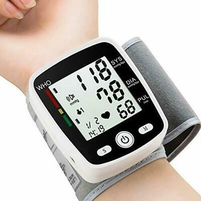 Portable Wrist Blood Pressure Monitor