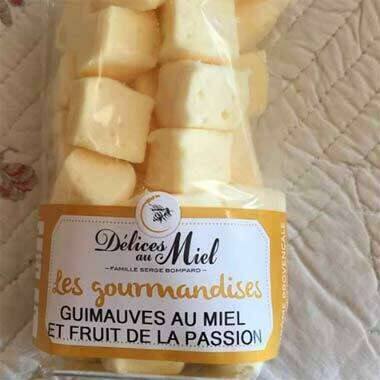 Guimauves au miel et Fruits de la Passion