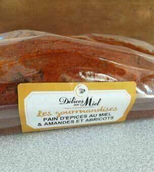 Pain d'épices au Miel et Amandes/Abricots