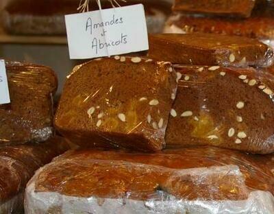 Pain d'épices au Miel et Amandes/Abricots - A LA COUPE