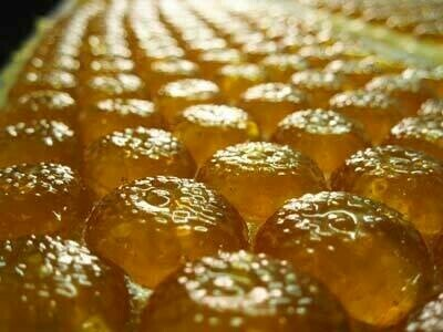 Bonbons au miel et bergamote