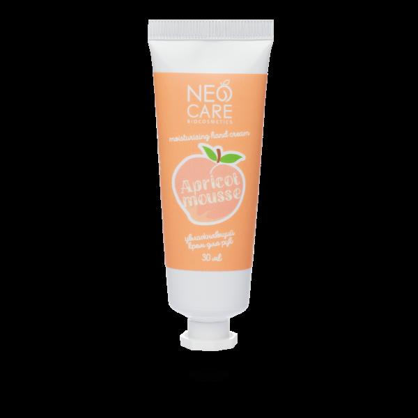 Neo Care Apricot mousse hand cream, 30ml