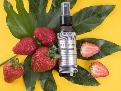 Hair spray with vitamins and strawberry aroma, 100 ml