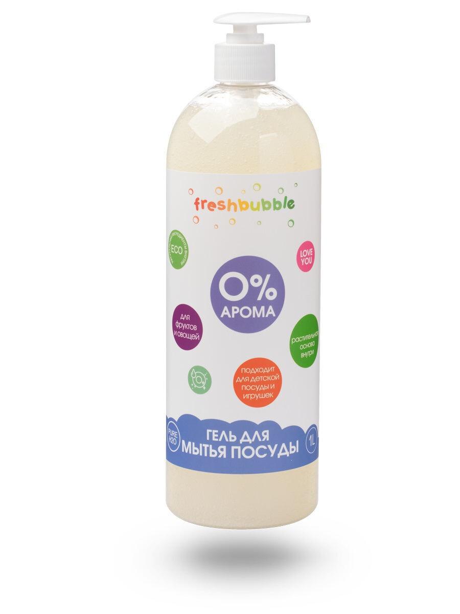 Dishwashing gel without aroma, 1 l