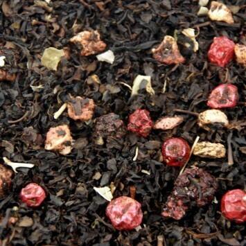 Zwarte thee bosvruchten (100 gram)