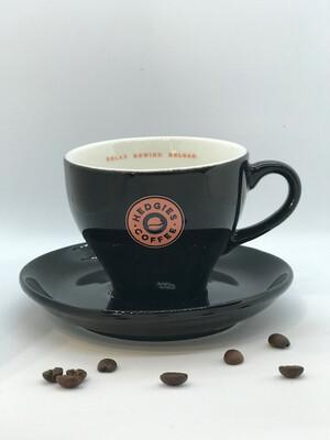 Hedgies, koffie kop en schotel (15cl)