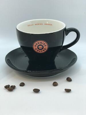 Hedgies cappuccino kop en schotel (20cl)