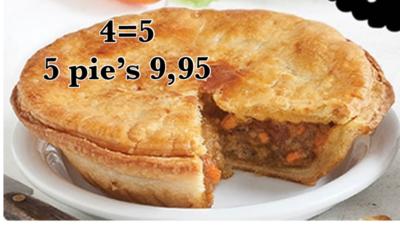 Australian Pie's 4=5* (bevroren)