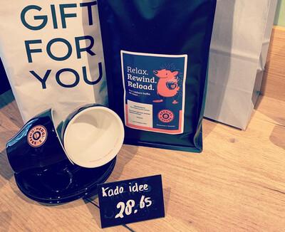 Hedgies kado idee Koffie pakket