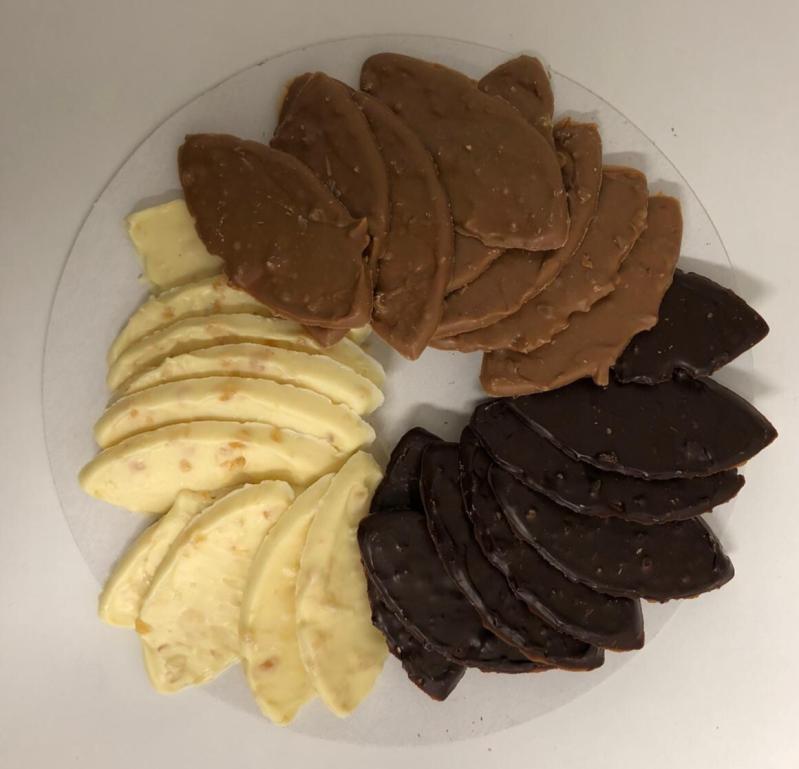 Hedgies.Chocolate Nougatblaadjes
