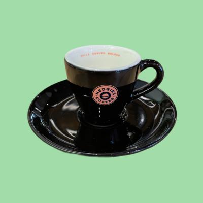 Hedgies espresso kop en schotel (7cl)
