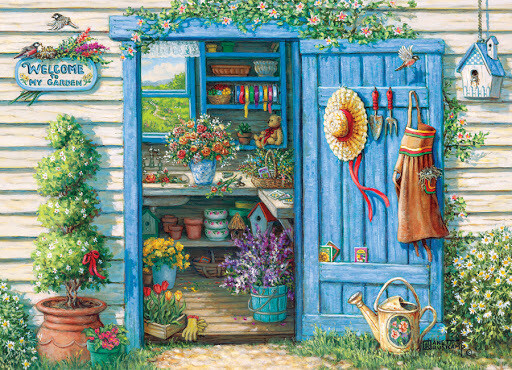 Welcome to My Garden - 500 Piece Cobble Hill Puzzle