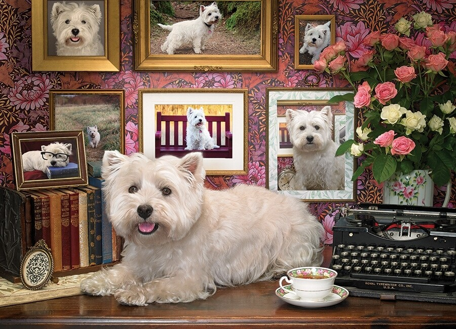 Westies are My Type - 1000 Piece Cobble Hill Puzzle