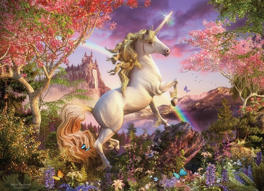 Unicorn - 1000 Piece Cobble Hill Puzzle