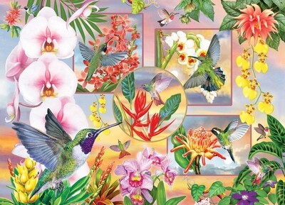 Hummingbird Magic - 500 Piece Cobble Hill Puzzle