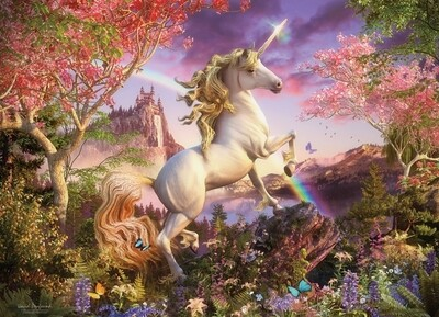 Realm of the Unicorn - 350 Piece Family Cobble Hill Puzzle