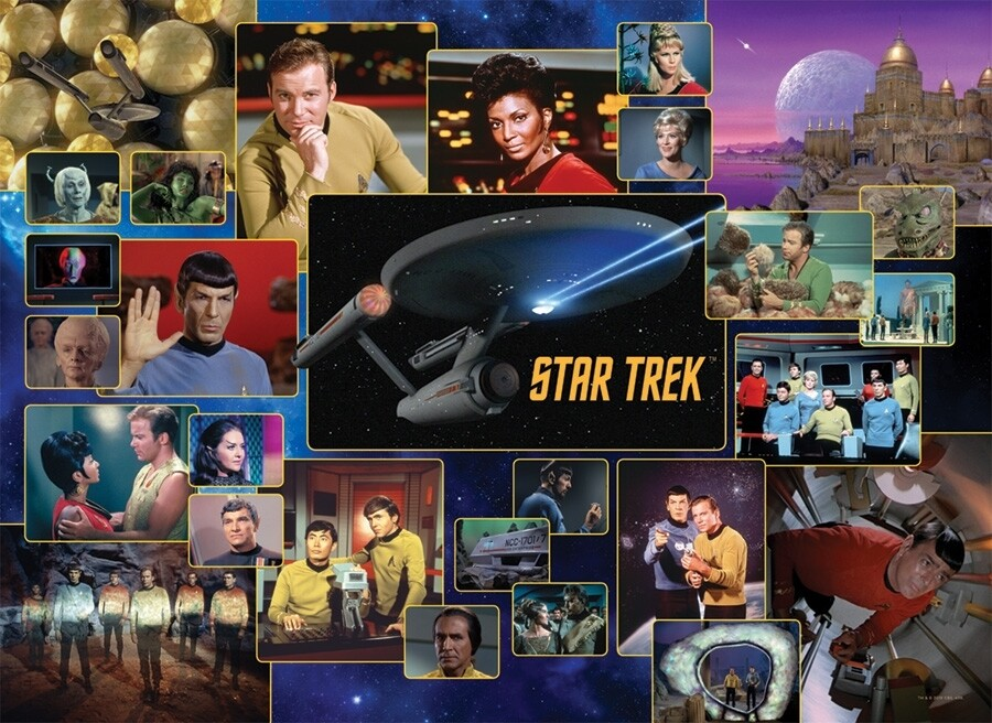 Star Trek:  Original Series - 1000 Piece Cobble Hill Puzzle